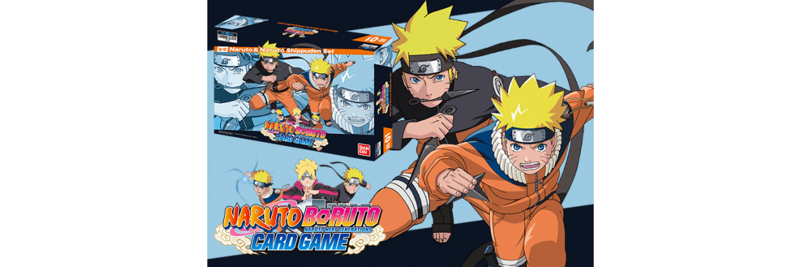 Naruto Baruto card game
