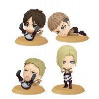 Attack on Titan ChiBi Figures 6 cm Assortment I(1 random)