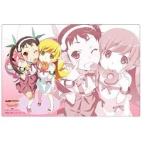 Bushiroad Rubber Mat Collection Vol.47 Monogatari Series Second Season [Shinobu Oshino & Mayoi Hachikuji ]