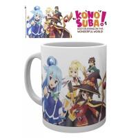 Kono Subarashii Sekai ni Shukufuku o! Mug Key Art