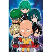 One Punch Man Posters 61 x 91 cm