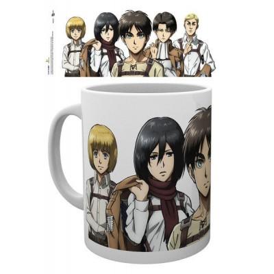 Attack on Titan Season 2 Mug Lineup
