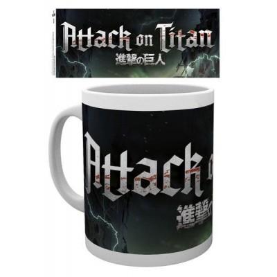 Attack on Titan Season 2 Mug Logo