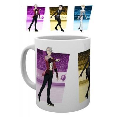 Yuri!!! on Ice Mug Victor, Yuri & Yurio