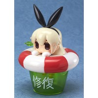 Kantai Collection Bath Time Collection Wind-Up Figure Shimakaze 9 cm