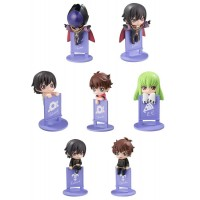 Code Geass: Lelouch of the Rebellion Ochatomo Series Trading Figure On The Glass 5 cm (1 random)